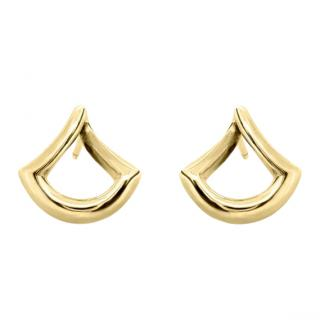 Dinny Hall Trapeze 22ct Gold Vermeil Twist Earrings