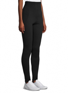 Dolce & Gabbana Black Cashmere Stretch Leggings