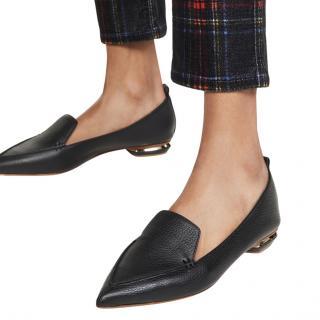 Nicholas Kirkwood Beya grained-leather Loafers