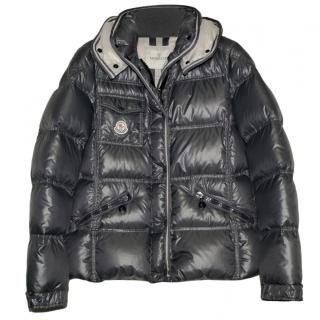 Moncler Grey Down Quincy Jacket