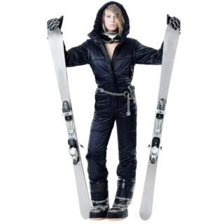 Chanel iconic black ski suit
