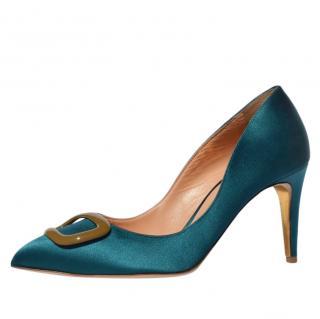 Rupert Sanderson New Pierre Half Moon Pebble Pumps