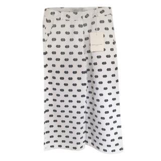 John Galliano Kids Girls Chiffon Spotted Wide Leg Pants Age 12 years