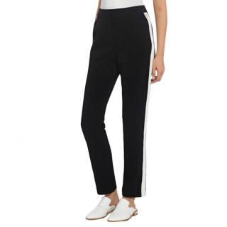 Self Portrait Black Side Stripe Pants