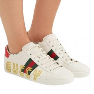 Gucci GUCCY Print Ace Sneakers