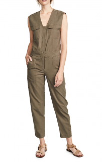 A.L.C Damien Jumpsuit In Military