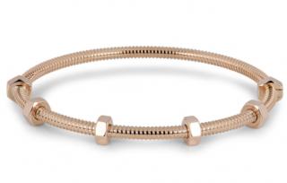 Cartier rose gold screw bracelet