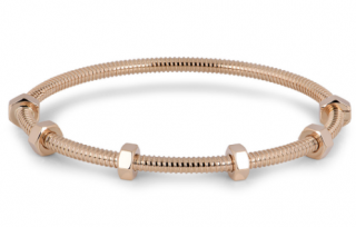 Cartier rose gold screw bracelet