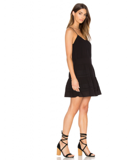 Frame Black Le Lace Cami Dress