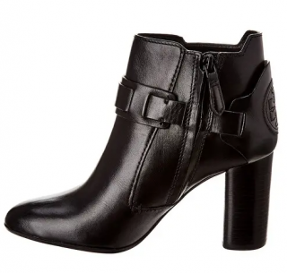 Tory Burch Colton Black Leather Bootie