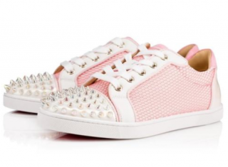 Christian Louboutin Gondolita Spikes Lace-Up Sneakers