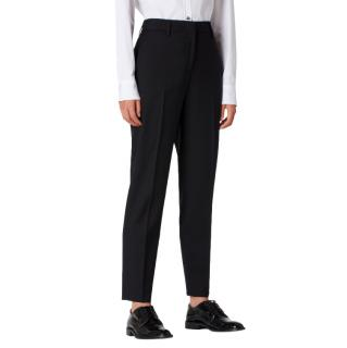 Paul Smith Black Tailored Wool 'A Trouser to Travel In' Pants
