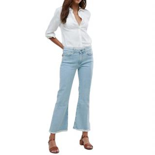 MiH Lou High Rise Crop Jeans
