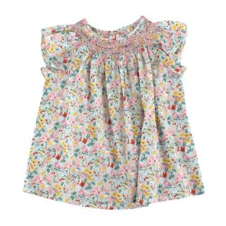 Bonpoint Multi-coloured Floral Pattern Top