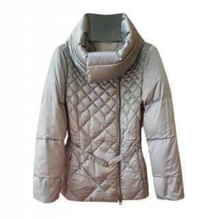 Fay Grey Quilted Down Puffer Jacket