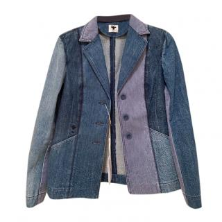 Dior Patchwork Denim Classic Bar Jacket