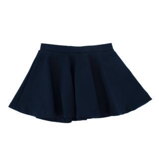 Ralph Lauren Polo Navy Blue Flared Skirt