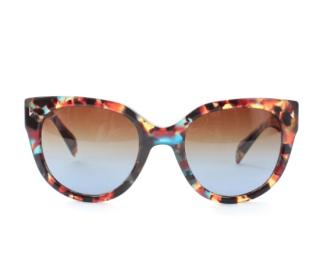 Prada Multicoloured Havana Cat-Eye Sunglasses