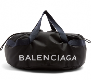 Balenciaga Wheel Bag S Nylon Duffle Tote
