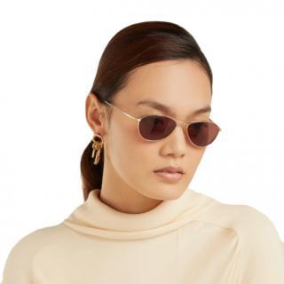 The Row X Oliver Peoples Aero LA sunglasses