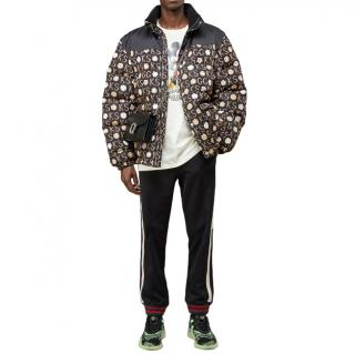 Gucci Ken Scott x Gucci print down jacket