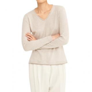 Fabiana Fillipi Virgin Wool, Silk and Cashmere Beaded Jumper