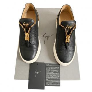 Giuseppe Zanotti Zipper Detail Slip On Sneakers