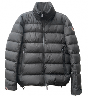 Moncler Grenoble Black Quilted Puffer Coat