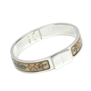Hermes Loquet Enamel Bracelet
