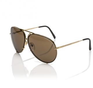 Porsche Design Titanium Oversize Sunglasses