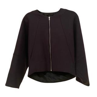 Victoria Beckham Wool Blend Navy Jacket
