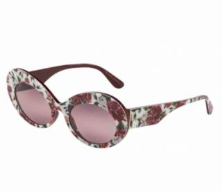 Dolce & Gabbana Floral Print Sunglasses