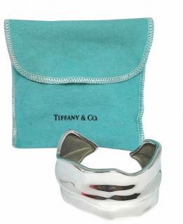 Tiffany & Co. Sterling Silver Leaf Cuff