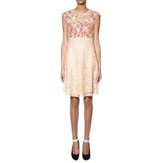 Joseph Nude Lace Detailed Frances Dress