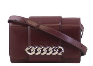 Givenchy Infinity Burgundy Calfskin Shoulder Bag