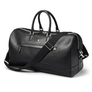 Aspinal of London Black Saffiano Mount Street City Holdall