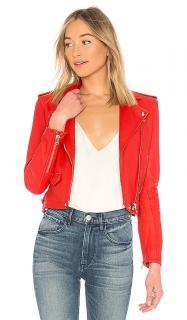 Iro Red  Ashville Leather Jacket