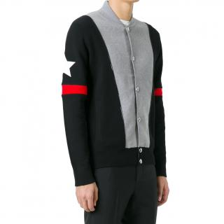 Givenchy Stars & Stripes Cotton Knit Cardigan/Jacket