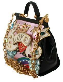 Dolce & Gabbana embellished LOVE DG Sicily Bag