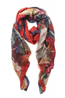 Etro Cashmere Blend Printed Scarf