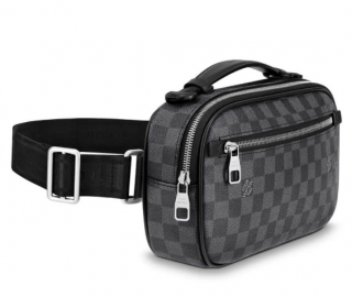 Louis Vuitton Damier Graphite Ambler Belt Bag