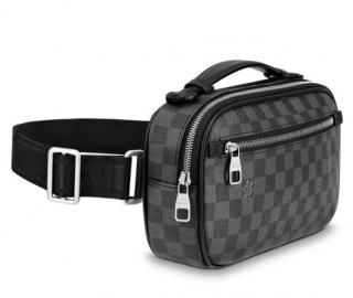 Louis Vuitton Damier Graphite Ambler Belt Bag