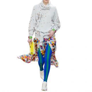 Chanel Supermarket Collection Embellished Jumper & Snood