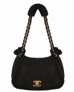 Rare Teddy Shearling Large Flap Bag
