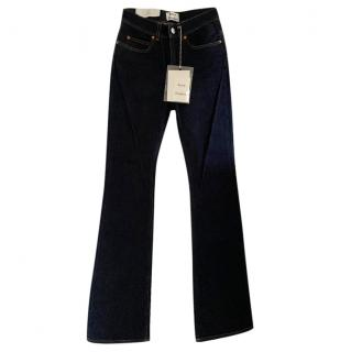 Acne Studios Lita Flared High Waist Jeans