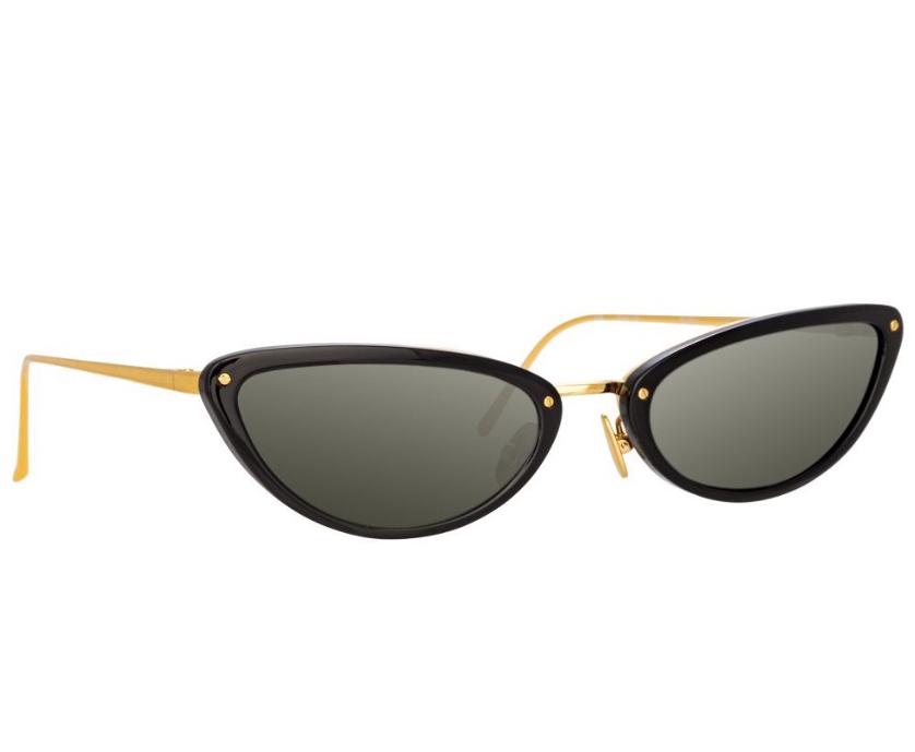 Linda Farrow 709 C1 Cat Eye Sunglasses