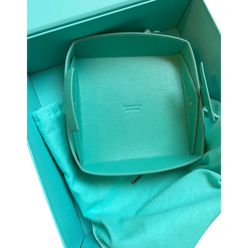 Tiffany & Co. Tiffany Blue Leather Jewellery Tray