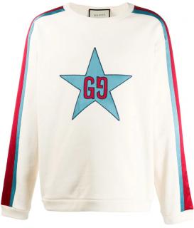Gucci Ivory GG Star Sweatshirt