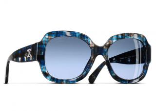 Chanel Blue Gradient Square 5373 1606/S2 Sunglasses