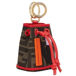 Fendi Micro Mon Tresor Bag Charm - Letter N